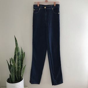 St. John Sport - Dark Denim Jeans Ankle Zipper